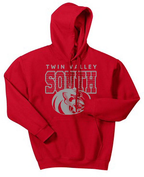 TVS Hooded Pullover Sweatshirt