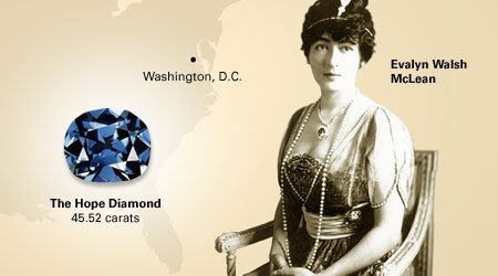 The strange mystery and curse of the Hope Diamond