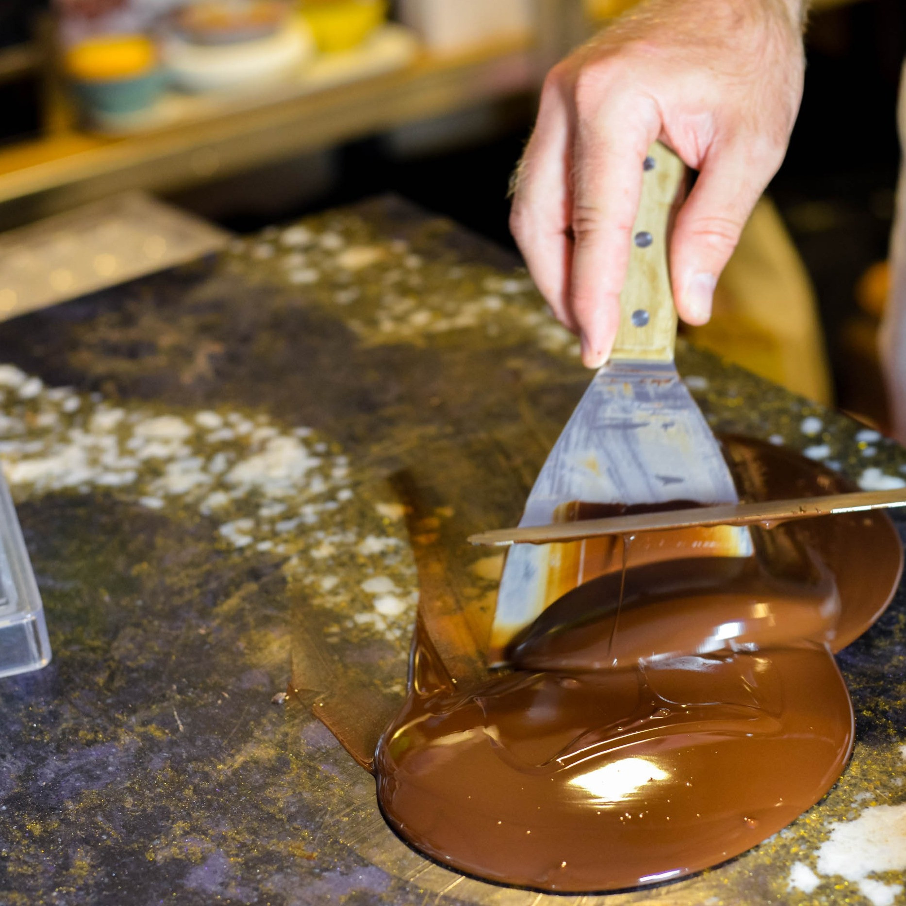 Group of 3 Chocolate Tempering Lesson