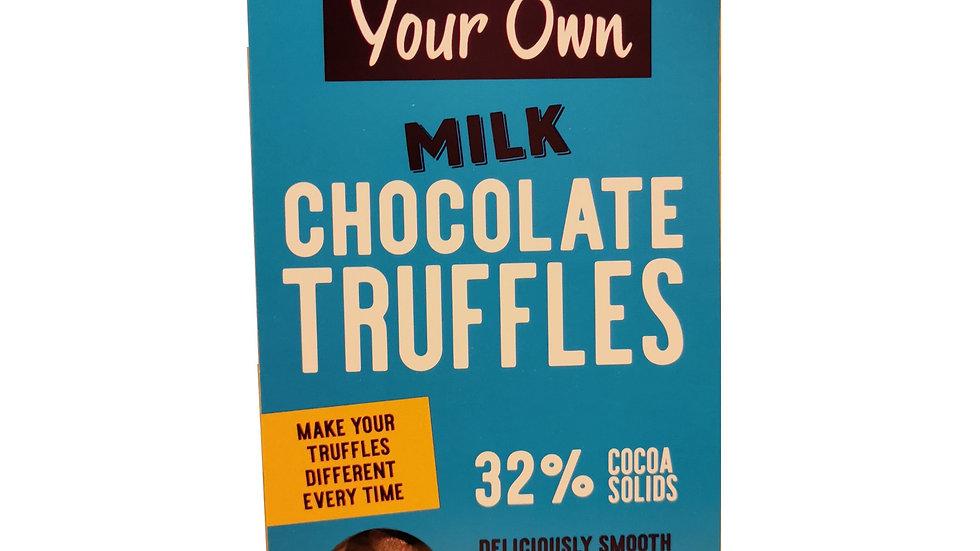 Milk Chocolate Truffle Kit