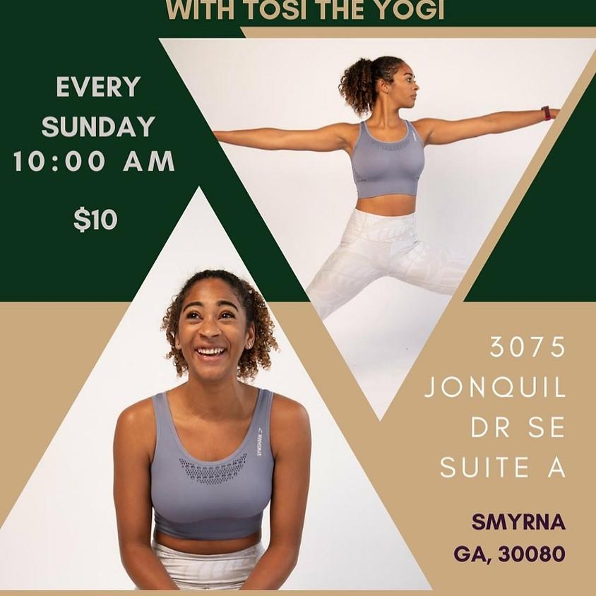 Power Yoga With Tosi The Yogi