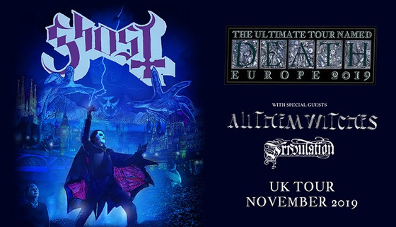 LIVE REVIEW: Ghost | All Them Witches | Tribulation @ Wembley Arena, London