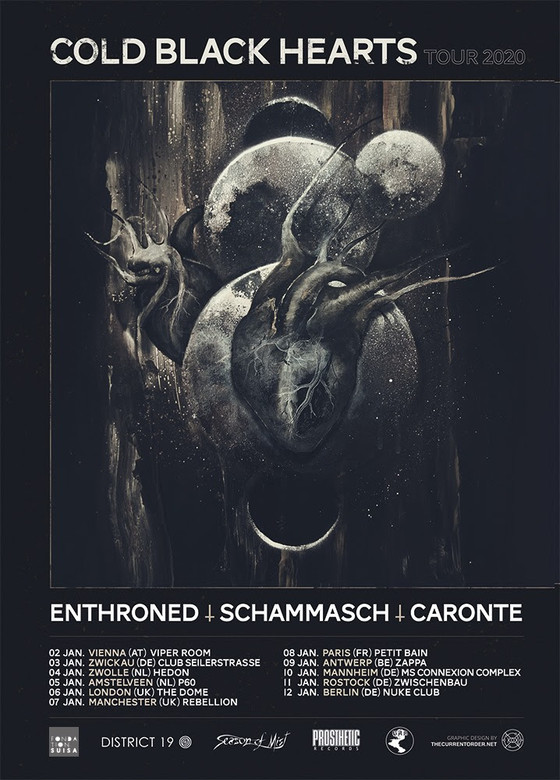 LIVE REVIEW: Enthroned + Schammasch + Vehement @ the Boston Music Rooms, London