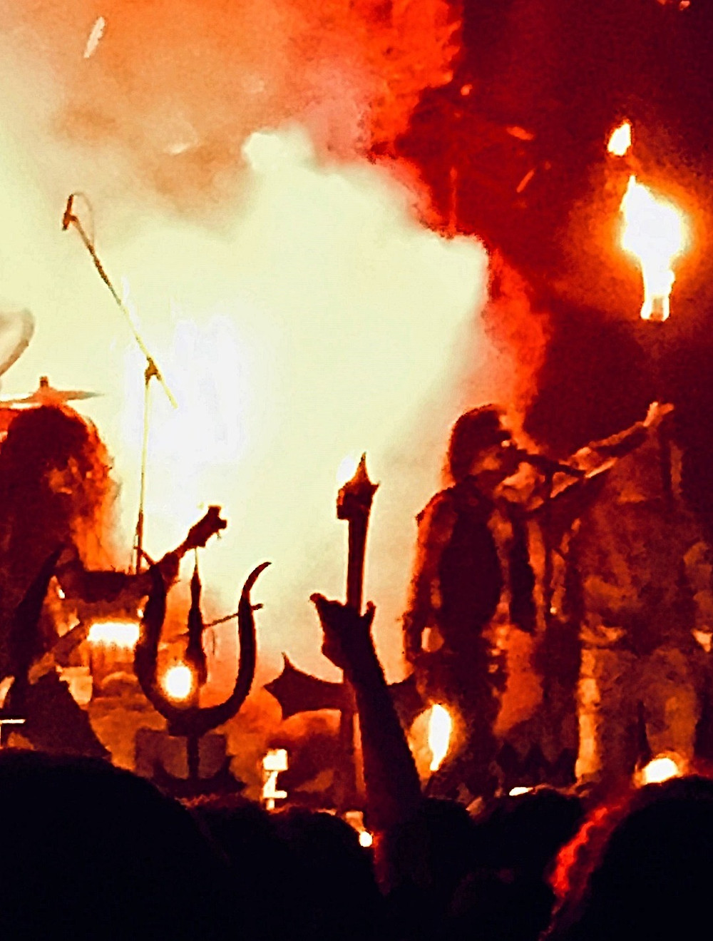Setting the night on fire: Watain's blistering closing set