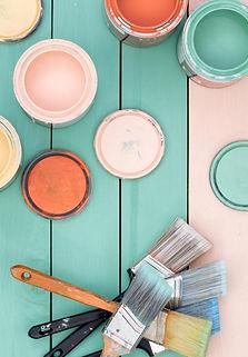 pots et pinceaux Rigaux peinture
