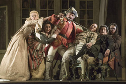 "As ""Count Almaviva"" in ""The Barber of Seville"" at English National Opera"