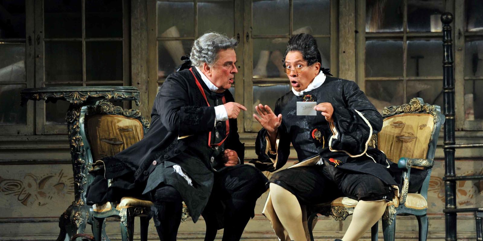"As ""Count Almaviva"" in Rossini's ""The Barber of Seville"""