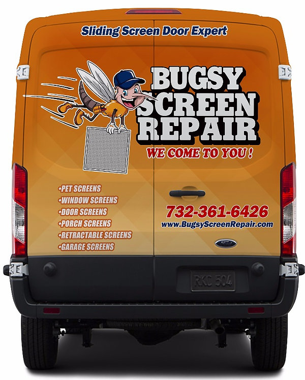 Bugsy Screen Repair list of services, Pet Screen, Window screens, Screen doors, retractable screens, storm doors,