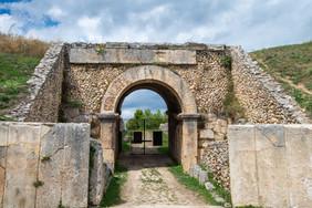 Alba Fucens amphitheatre entrance