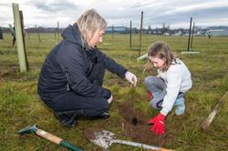 Ury Riverside Park Tree Planting 9
