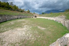 Alba Fucens amphitheatre