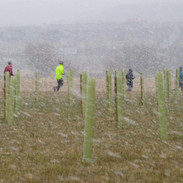 P1050578 parkrunners braving snowstorm 2