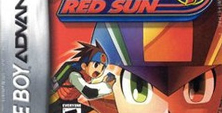 Mega Man Battle Network 4 Red Sun