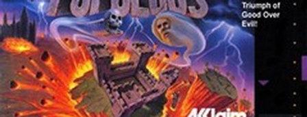 Populous -Nintendo, Super (SNES)