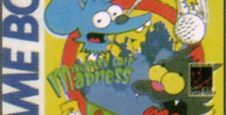 Itchy and Scratchy Miniature Golf Madness