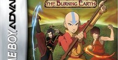 Avatar The Burning Earth -Game Boy Advance