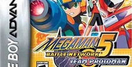Mega Man Battle Network 5 Team Protoman
