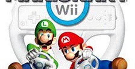 Mario Kart Wii w/ Wheel CIB