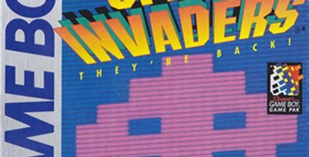 Space Invaders -Game Boy
