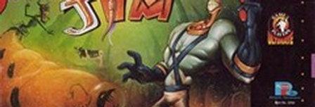 Earthworm Jim -Nintendo, Super (SNES)