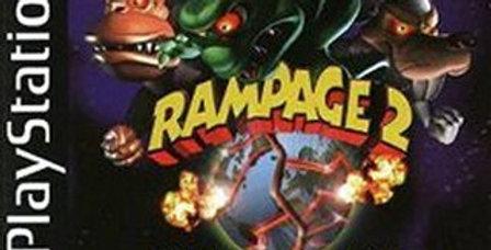 Rampage 2 Universal Tour -PlayStation 1