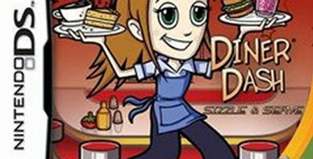 Diner Dash Sizzle and Serve -Nintendo DS
