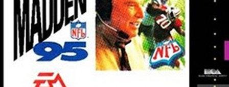 Madden NFL '95 -Nintendo, Super (SNES)