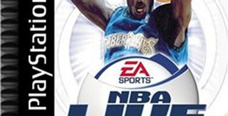NBA Live 2001 -PlayStation 1