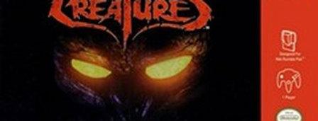 Nightmare Creatures -Nintendo 64
