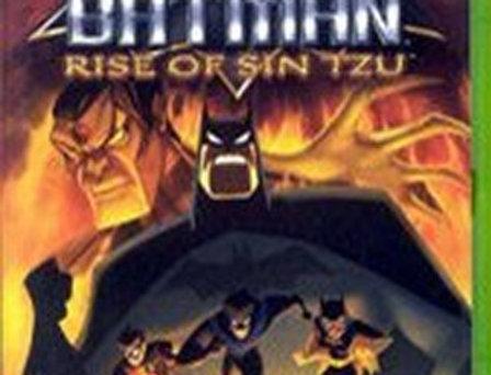 Batman Rise of Sin Tzu -Xbox