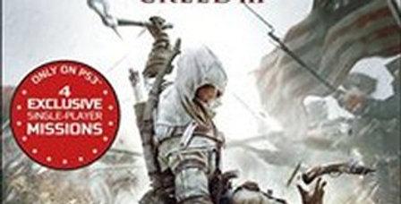 Assassin's Creed III -PlayStation 3