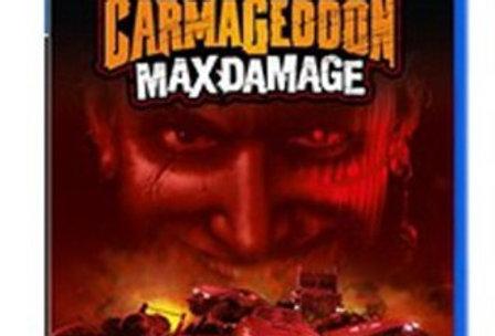 Carmageddon Max Damage -PlayStation 4