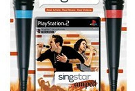 SingStar Amped with Microphone