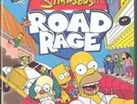 Simpsons Road Rage, The -Nintendo Gamecube