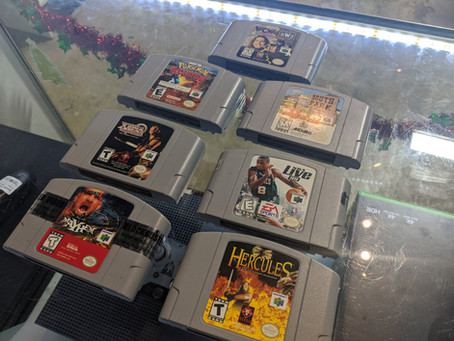 Thank you Forrest with Far Out Designs of Seminole for the donation of games for our arcade!