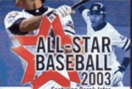 All-Star Baseball 2003 -Nintendo Gamecube