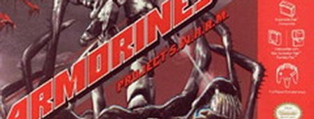 Armorines Project SWARM -Nintendo 64