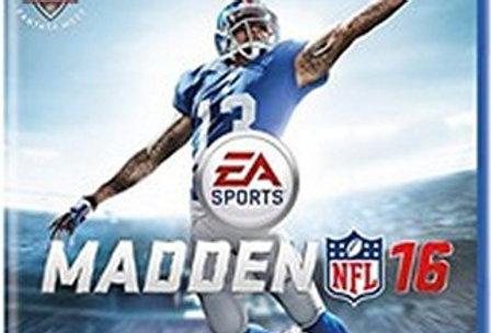 Madden NFL 16 -PlayStation 4