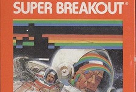 Super Breakout -Atari 2600
