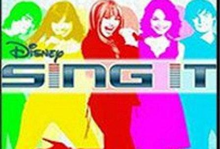 Disney Sing It -Nintendo Wii