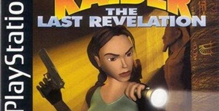 Tomb Raider Last Revelation -PlayStation 1