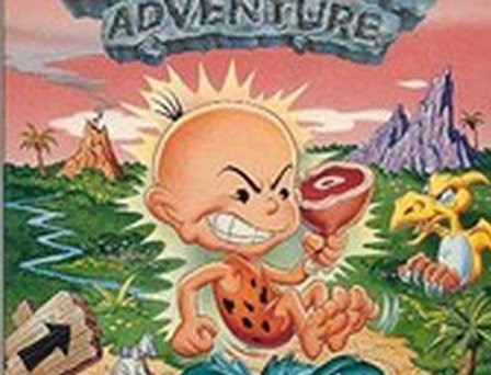 Bonk's Adventure -Nintendo (NES)