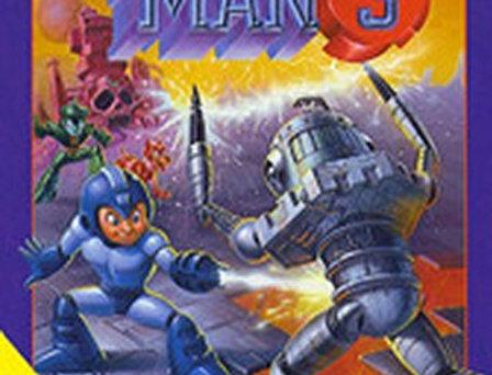 Mega Man 3 w/ Manual
