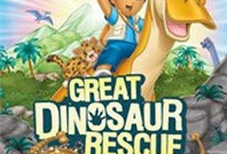 Go, Diego, Go! Great Dinosaur Rescue -Nintendo Wii