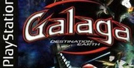 Galaga Destination Earth -PlayStation 1