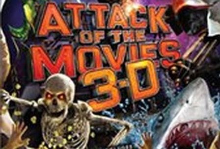 Attack of the Movies 3D -Xbox 360