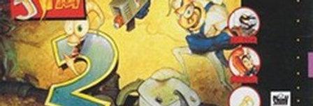 Earthworm Jim 2 -Nintendo, Super (SNES)