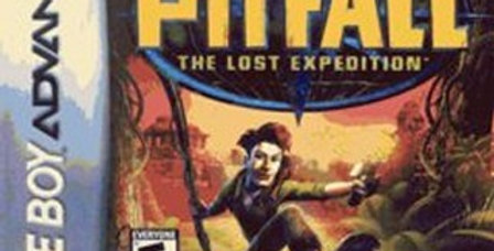 Pitfall The Lost Expedition -Game Boy Advance