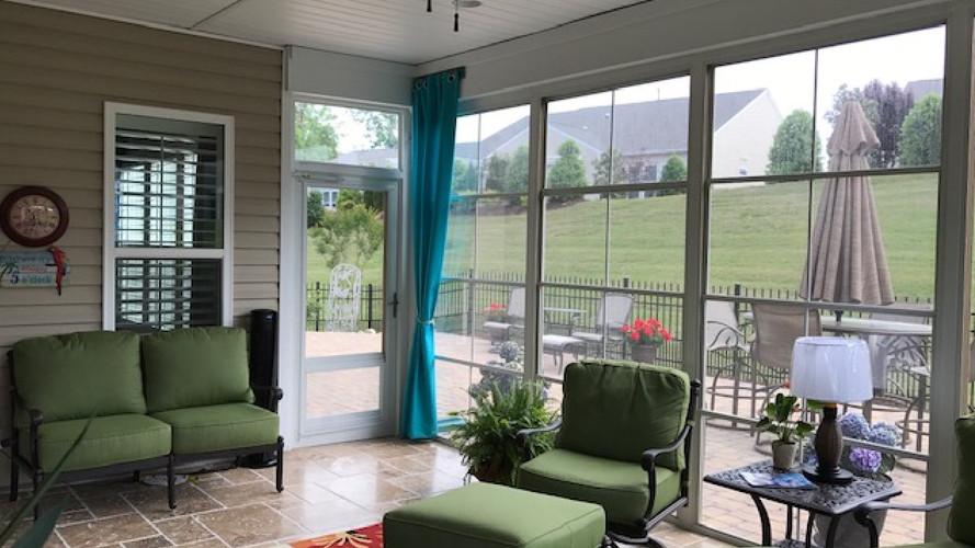 4 Track Porch Enclosure