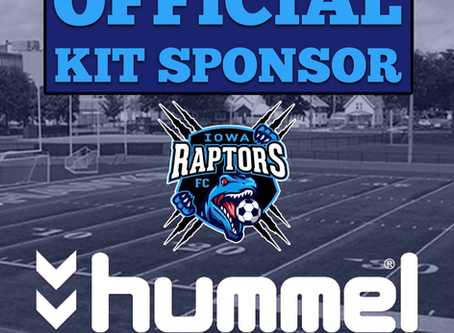 HUMMEL-THE OFFICIAL RAPTORS APPAREL PARTNER, and PATHWAY TO THE PRO'S